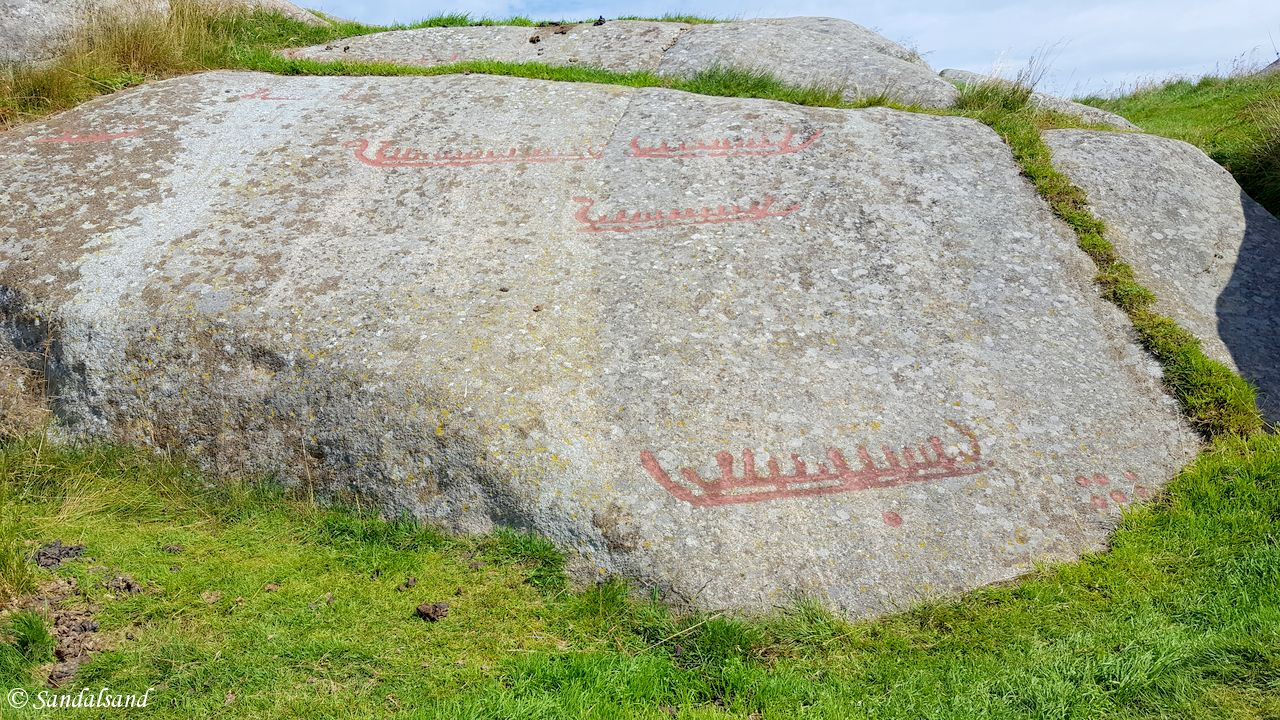Vest-Agder - Farsund - Penne - Jærberget helleristninger