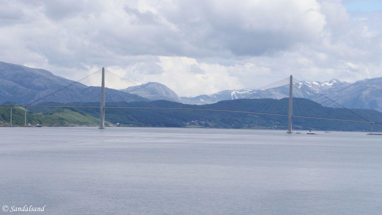 Nordland - Alstahaug - Sandnessjøen - Helgelandsbroen