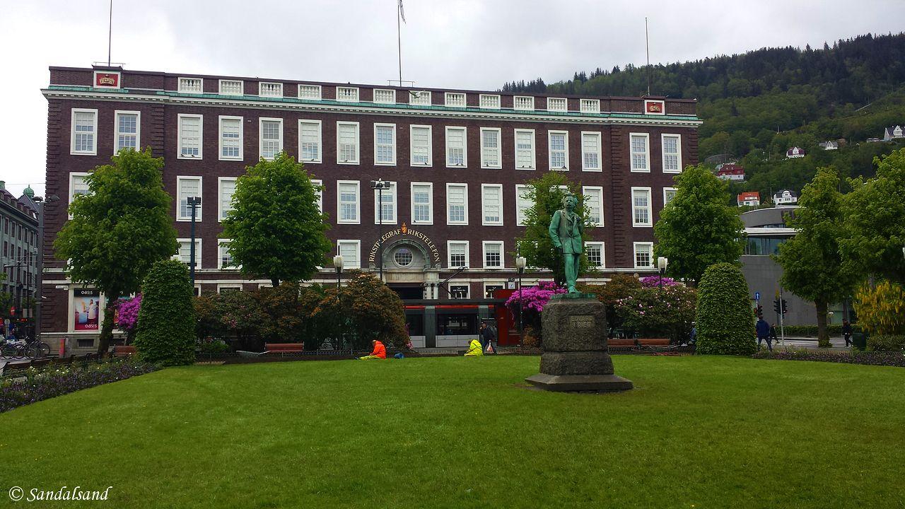 Hordaland - Bergen - Byparken og Telegrafen