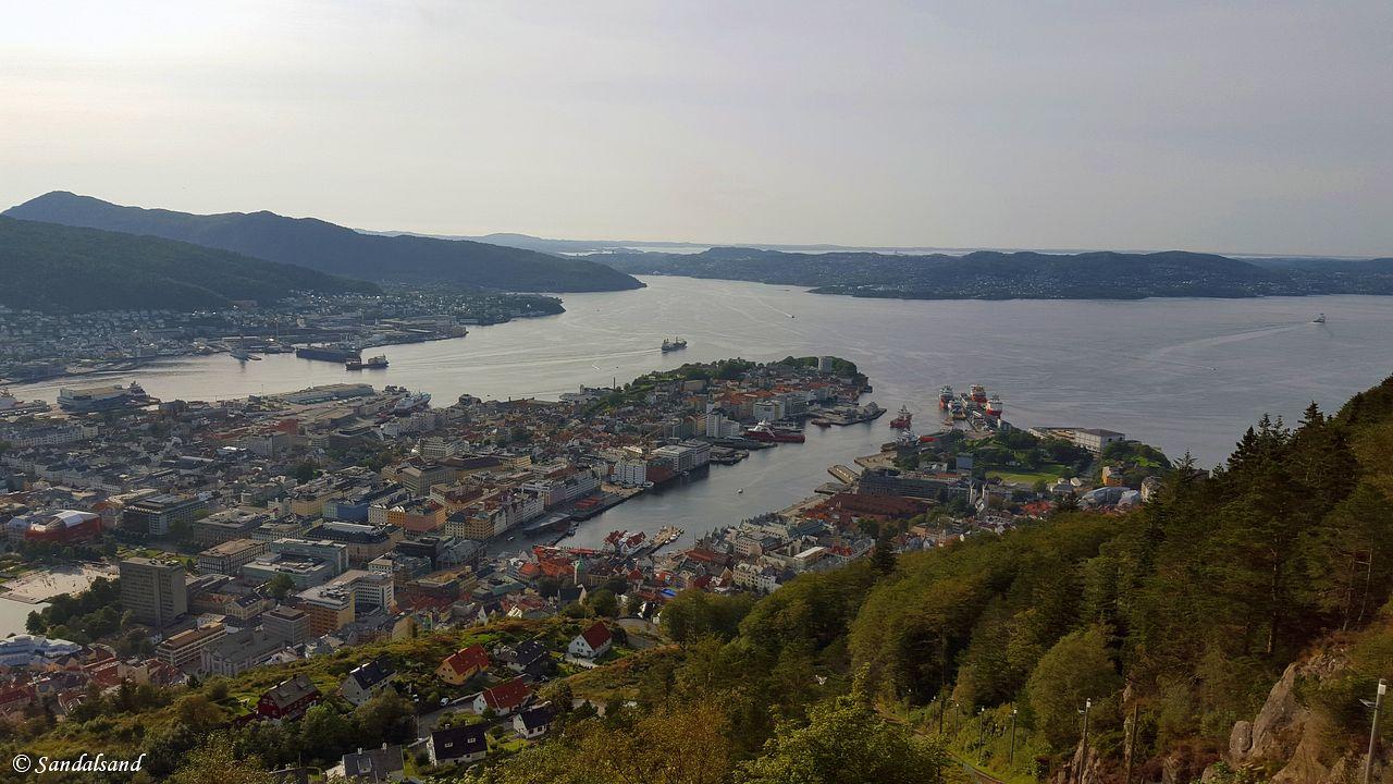 Hordaland - Bergen - Fløybanen - Fløyen