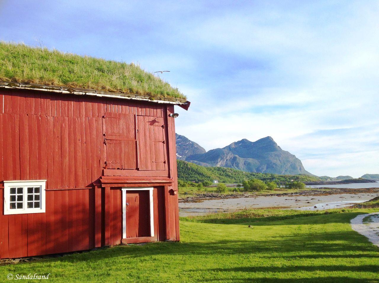 Norway - Nordland - Kjerringøy trading post - Land side