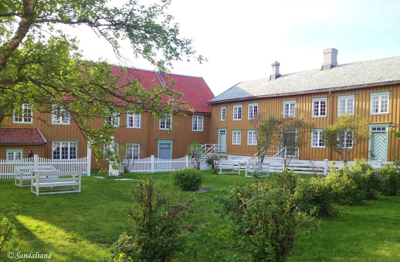 Norway - Nordland - Kjerringøy trading post - The gardens