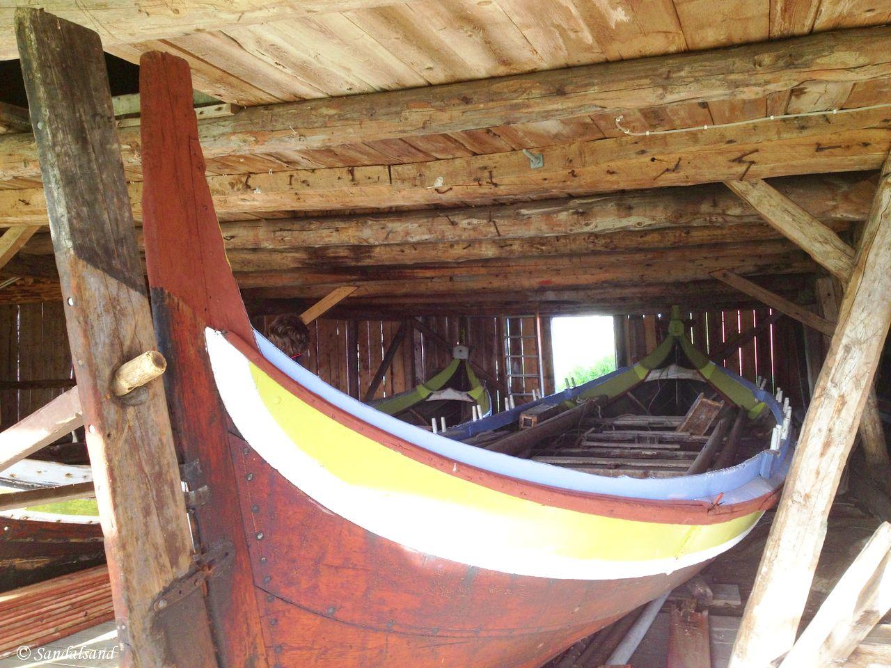 Norway - Nordland - Kjerringøy trading post - The small boat houses