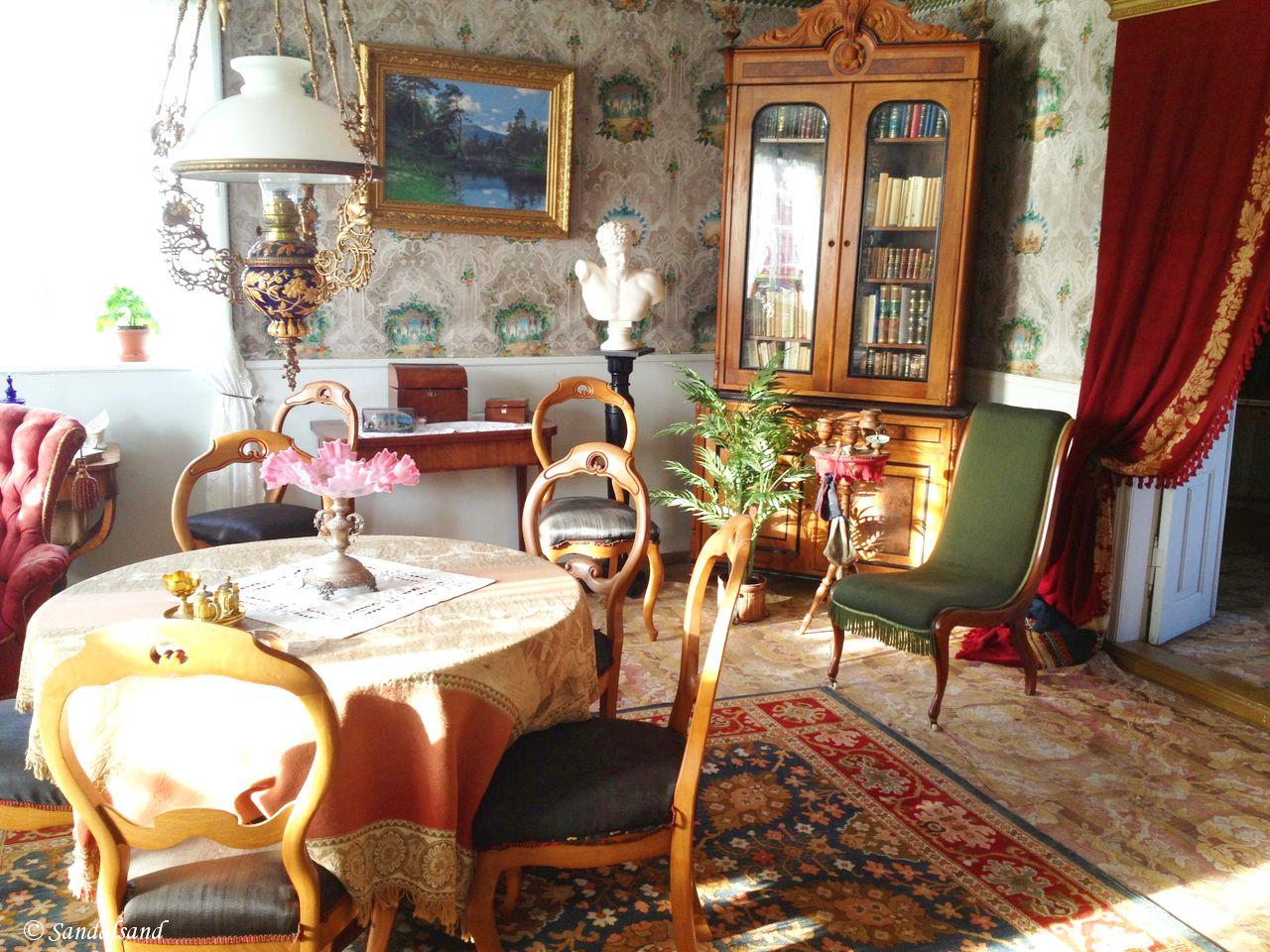 Norway - Nordland - Kjerringøy trading post - Main house - Floor 1 - Living rooms