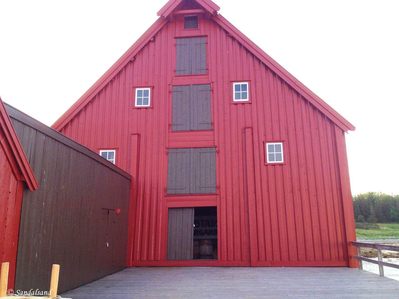 Norway - Nordland - Kjerringøy trading post - The store house