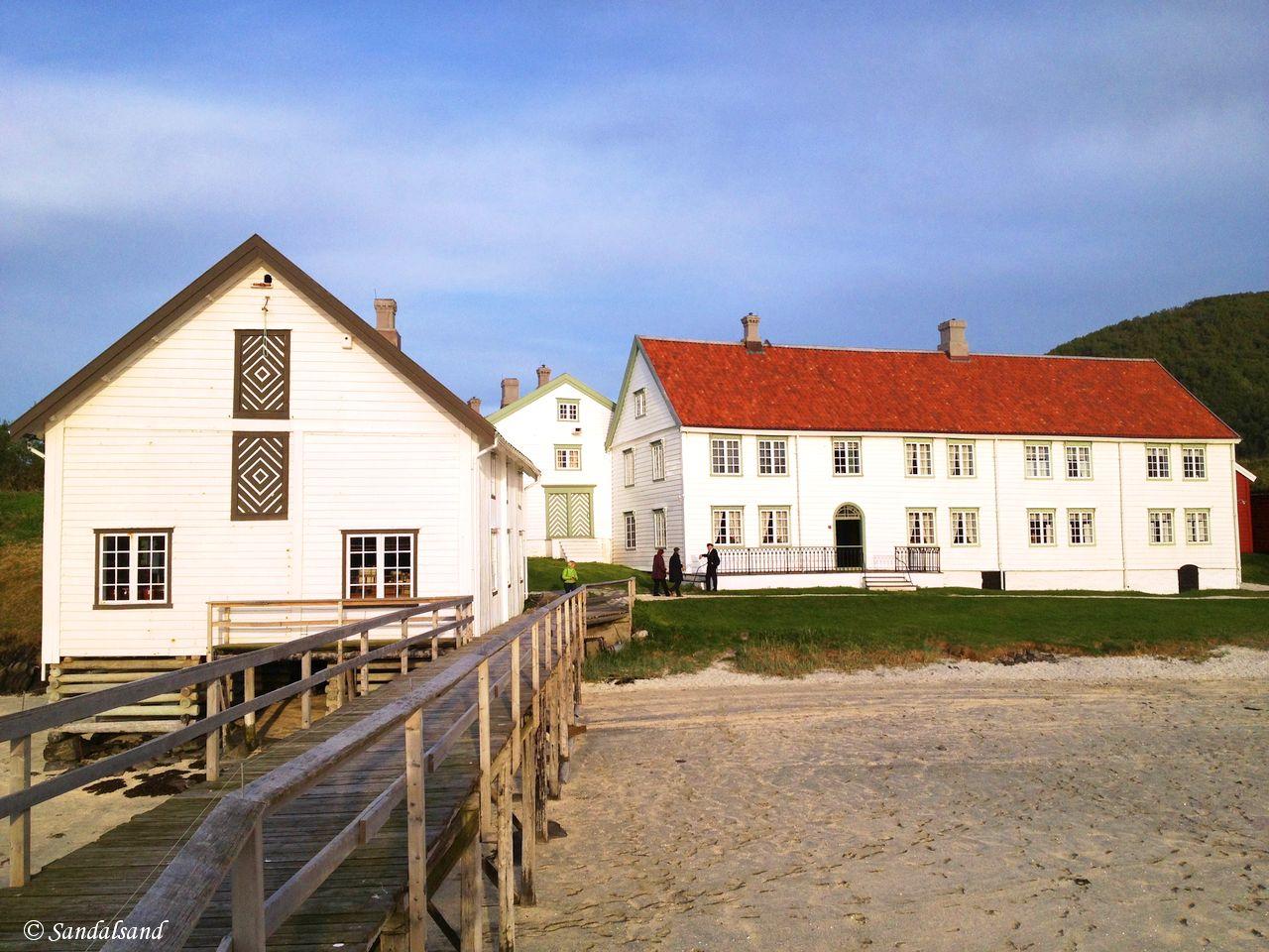 Norway - Nordland - Kjerringøy trading post - Main house