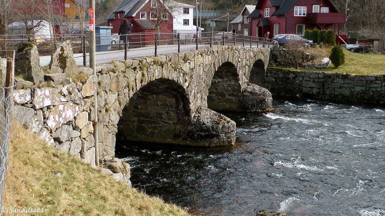 Rogaland - Eigersund - Helleland - Svalestad steinbro