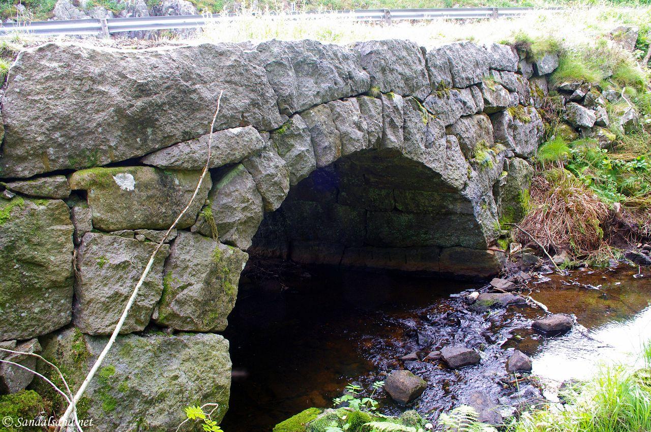 Rogaland - Eigersund - Svanes steinbro (Svåbro)