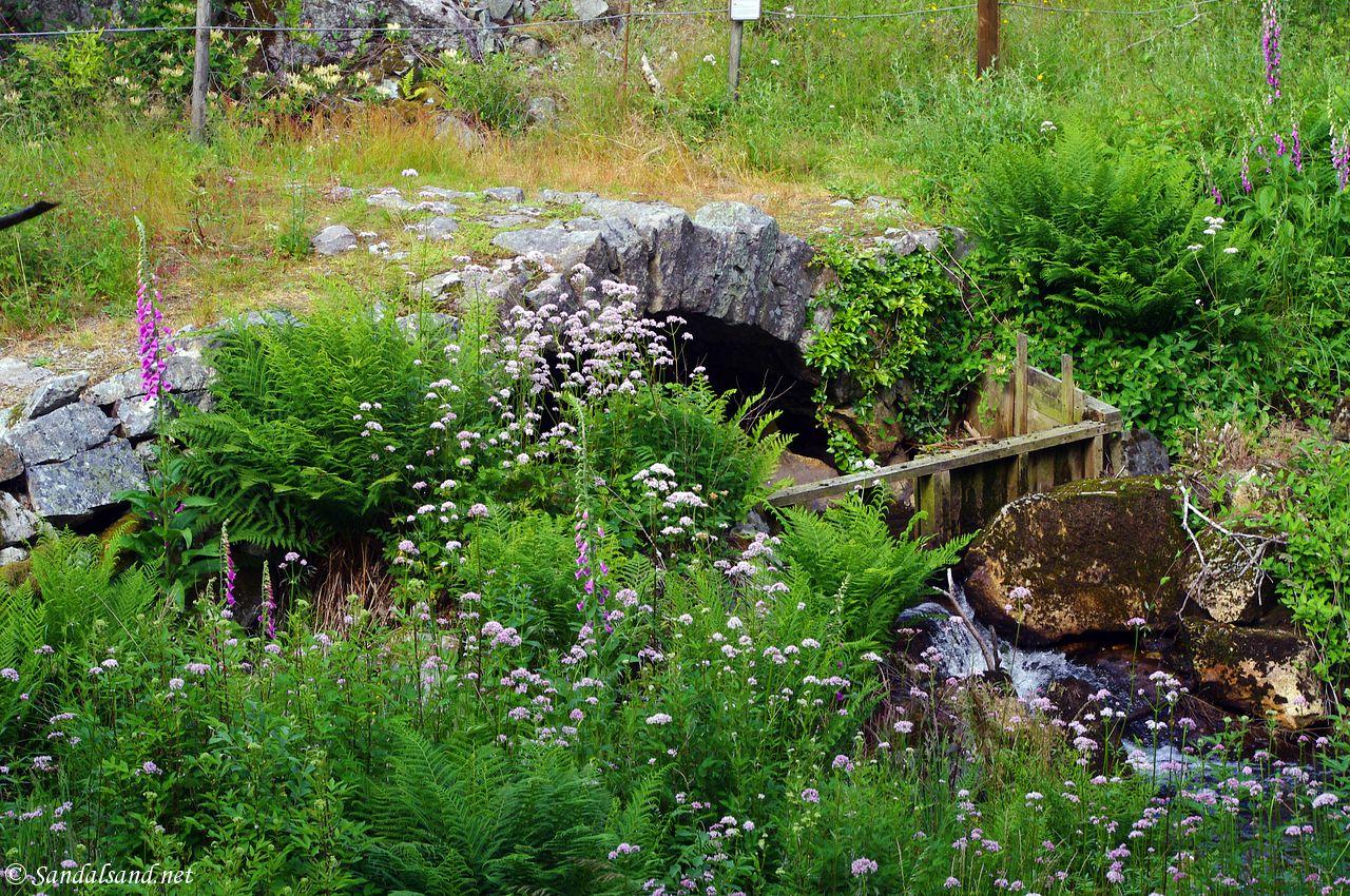 Rogaland - Eigersund - Svanes steinbro (Litla Klopp)