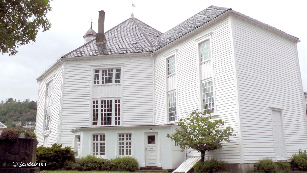 Norway - Vest-Agder - Flekkefjord church