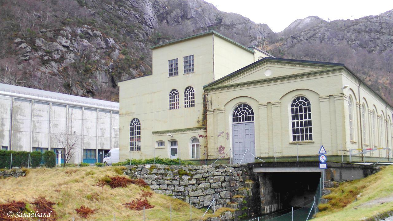 Rogaland - Gjesdal - Oltedal kraftverk