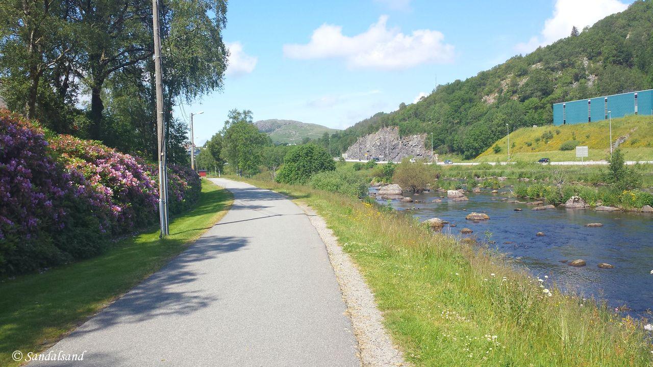 Rogaland - Gjesdal - Langs Figgjoelva