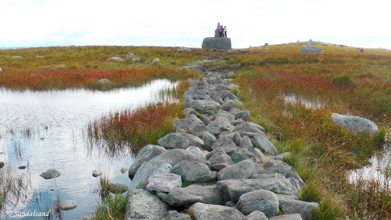 Rogaland - Hå - Holmavatn til Steinkjerringa til Synesvarden