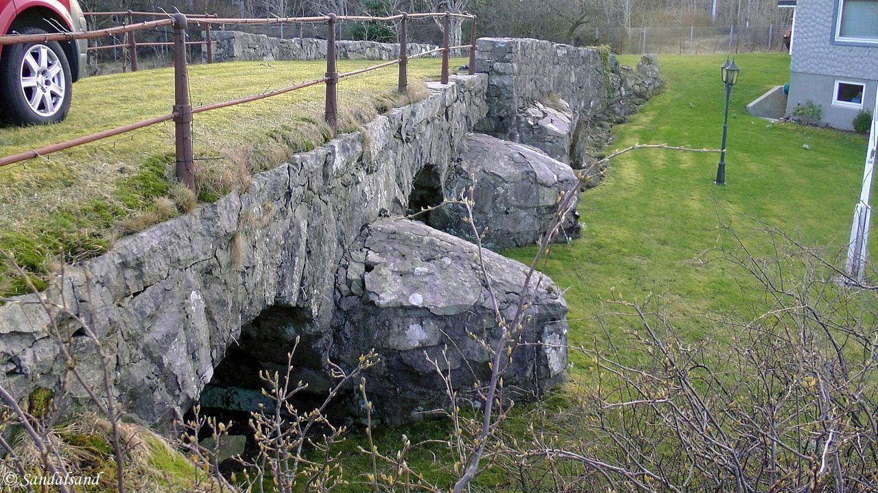 Rogaland - Hå - Helgåna steinbro