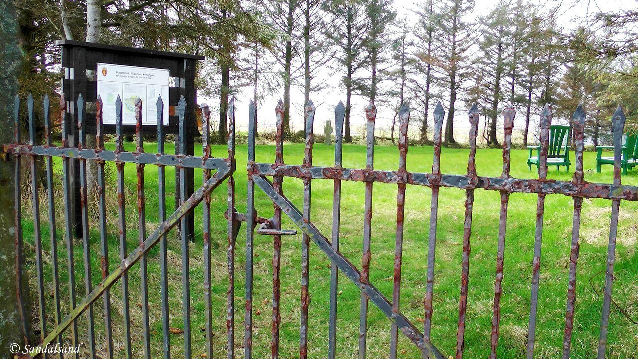 Rogaland - Hå - Njærheim gamle kirkegård