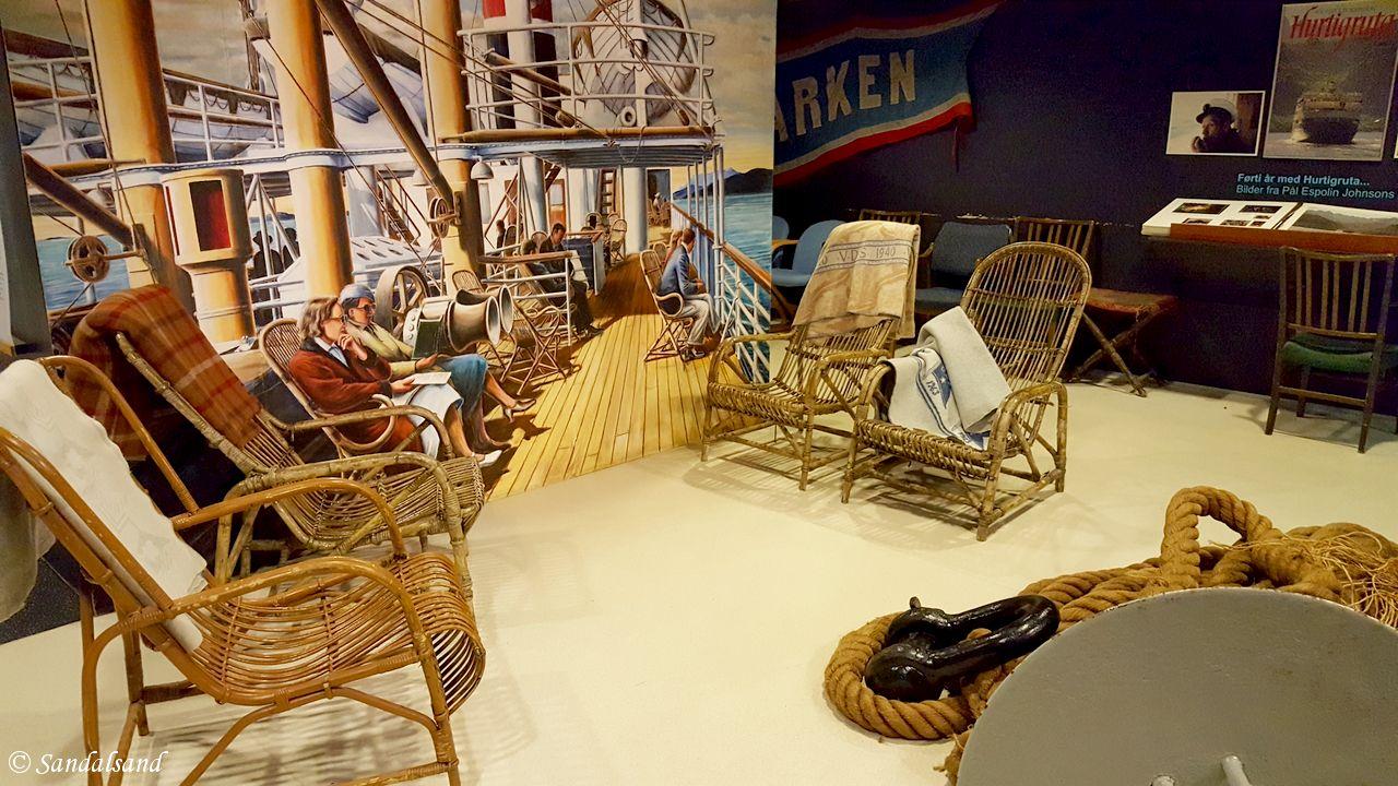 Nordland - Hadsel - Stokmarknes - Museum Nord - Hurtigrutemuseet