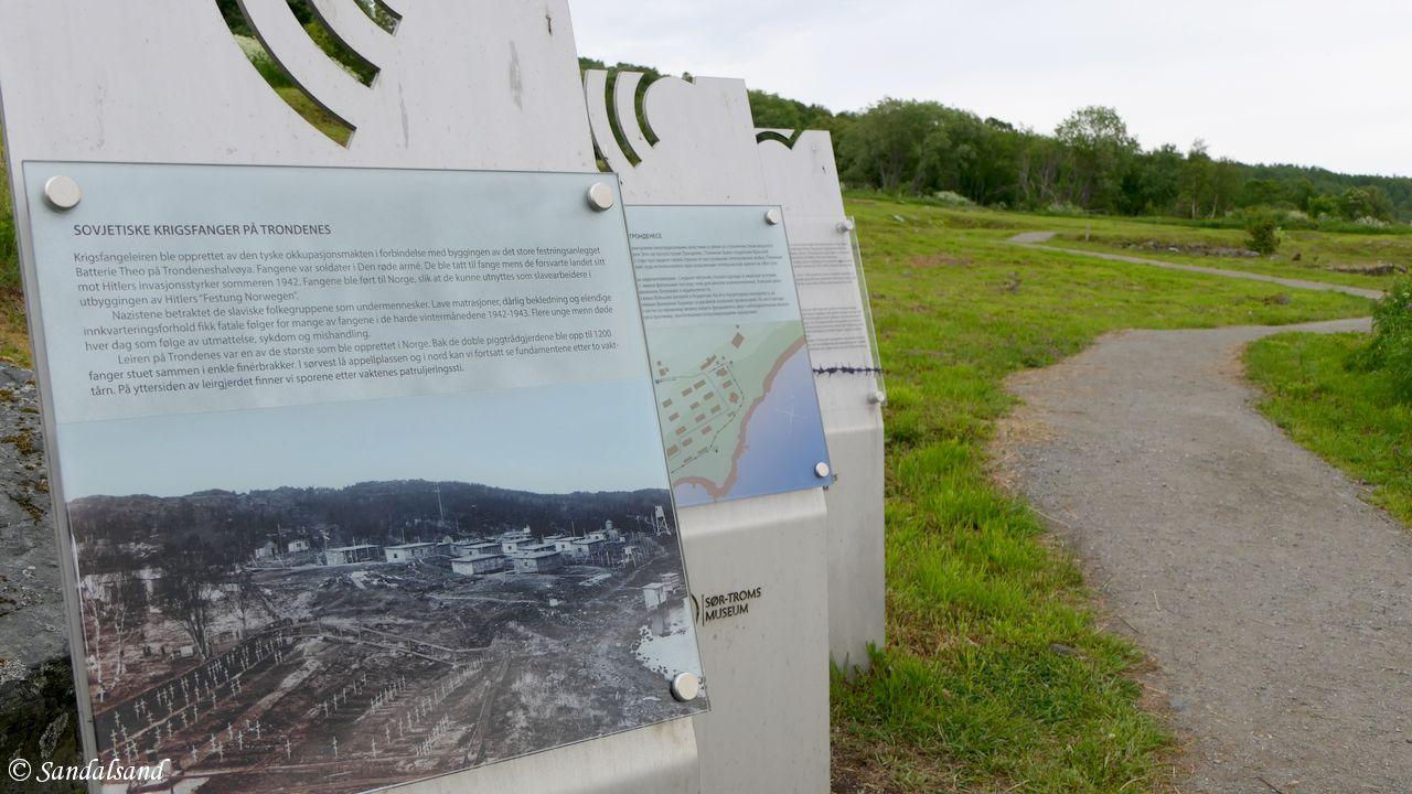 Troms - Harstad - Trondenes - Krigsminne