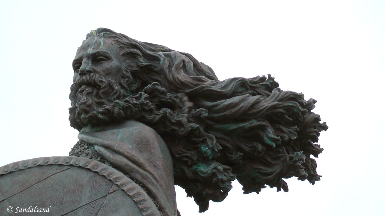 Rogaland - Haugesund - Skulptur - Harald Hårfagre (Havnaberg)