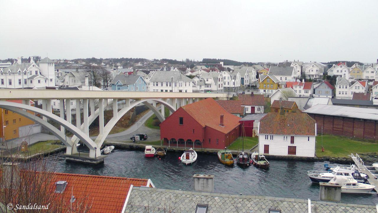 Rogaland - Haugesund - Utsikt fra Havnaberg