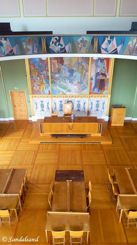 Rogaland - Haugesund - Rådhuset - Bystyresalen