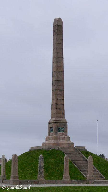 Rogaland - Haugesund - Skulptur - Haraldshaugen - Haraldsstøtten
