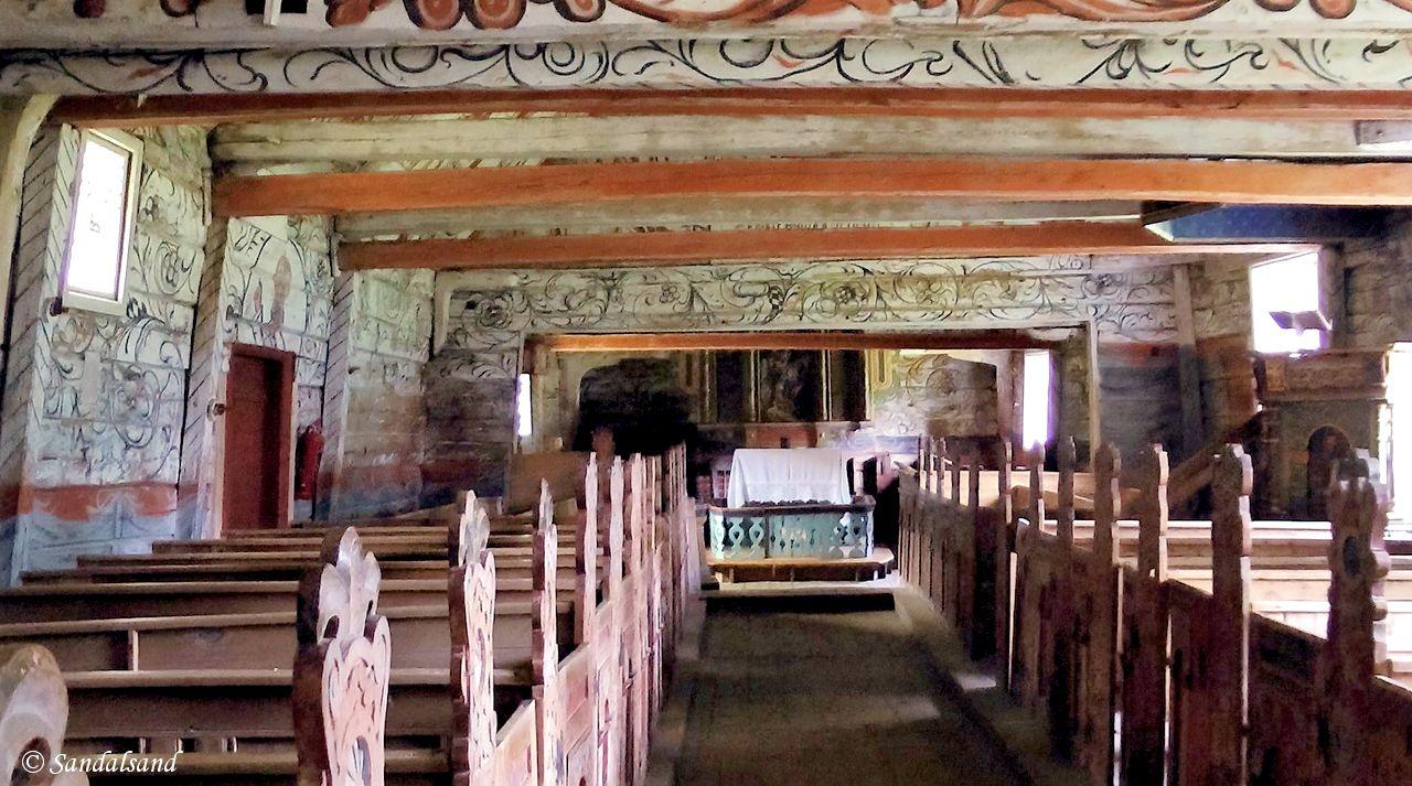 Rogaland - Hjelmeland - Årdal Gamle Kirke
