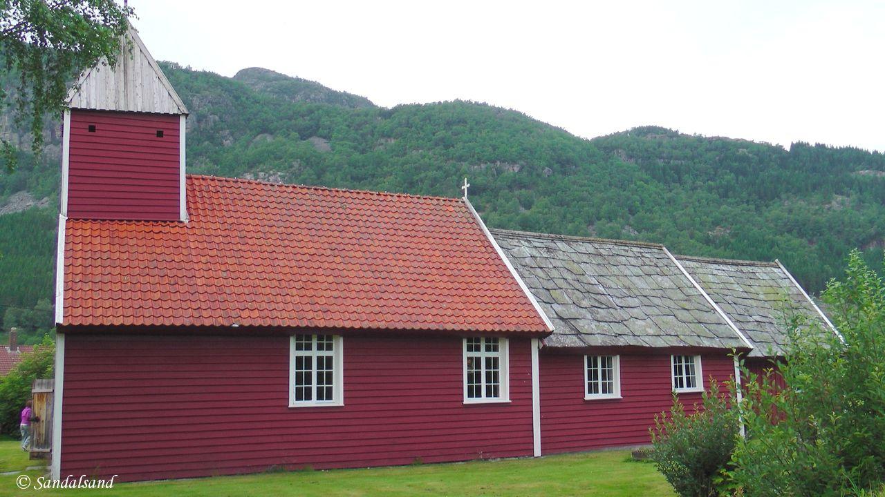 Norway - Rogaland - Hjelmeland - Årdal old church