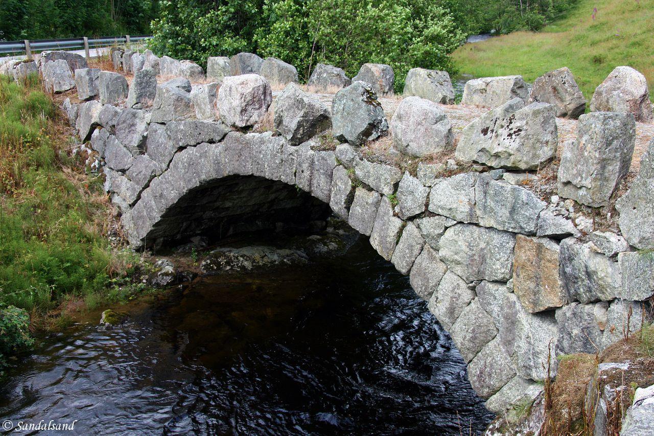 Rogaland - Hjelmeland - Mæle steinbro