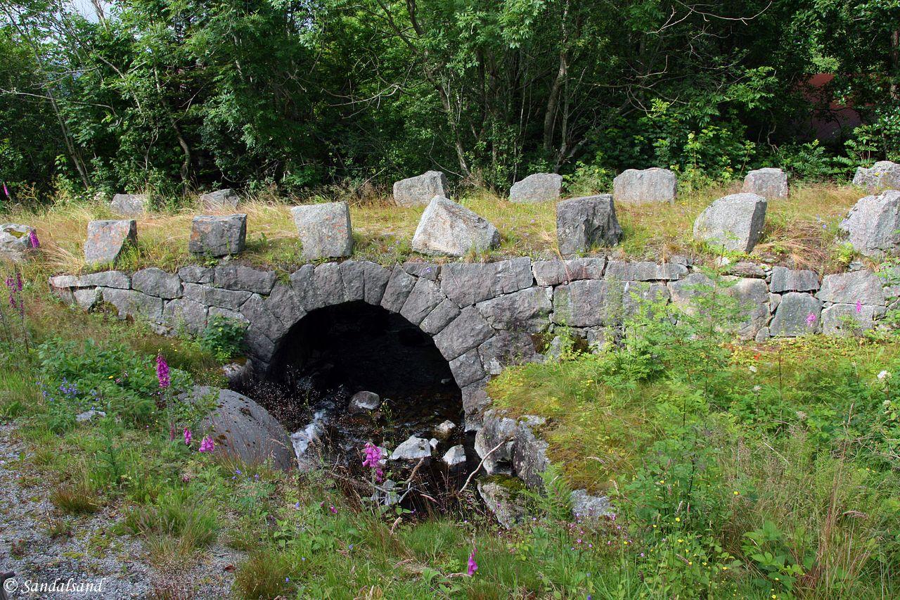 Rogaland - Hjelmeland - Støle steinbro