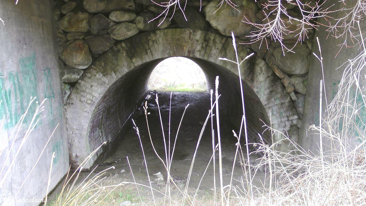 Rogaland - Karmøy - Bø tunnelbro, steinbro