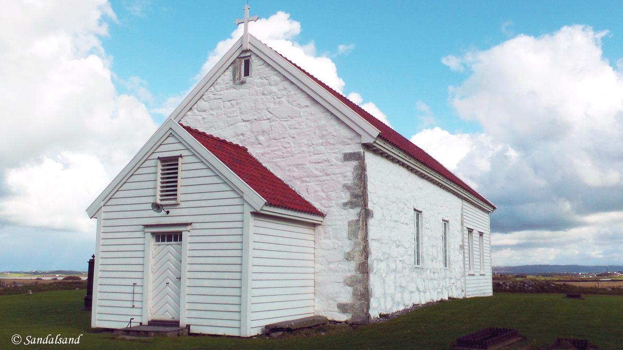 Rogaland - Klepp - Orre gamle kirke