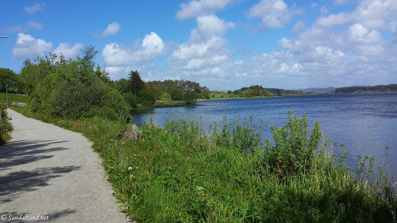 Rogaland - Klepp - Frøylandsvatnet