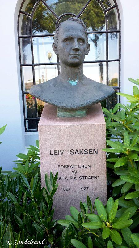 Rogaland - Stavanger - Skulptur - Leiv Isaksen, ved Rogaland Teater