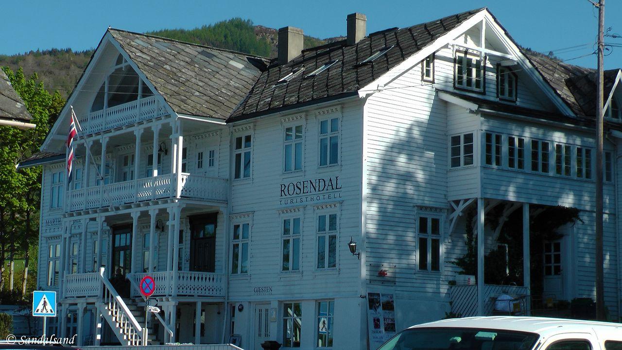 Hordaland - Kvinnherad - Rosendal Turisthotell