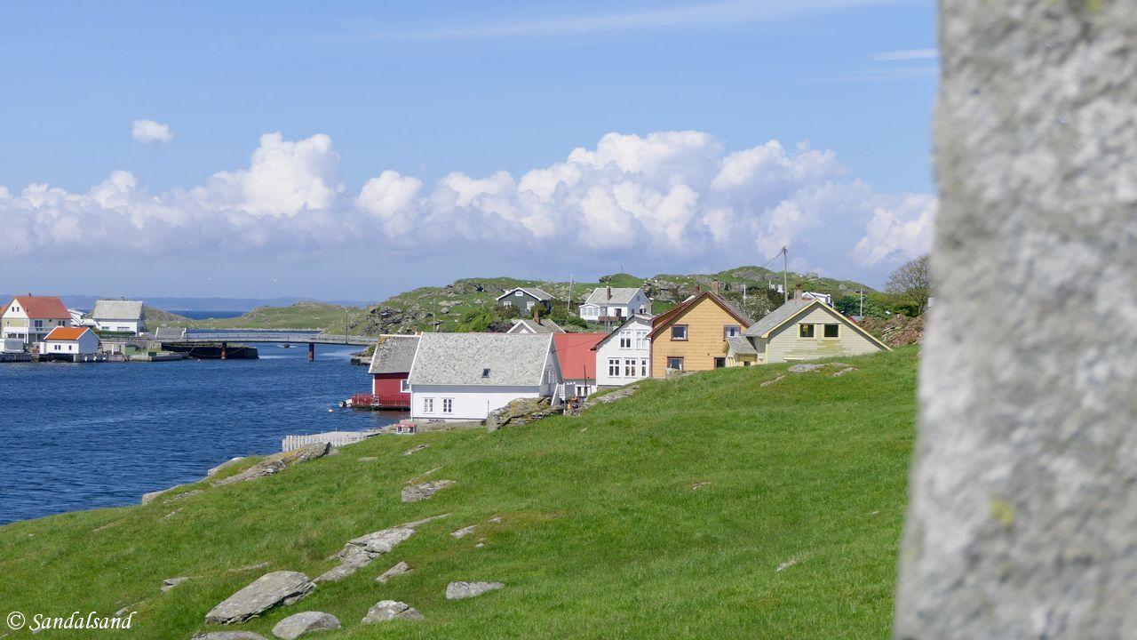 Rogaland - Kvitsøy - Krossøy - Steinkorset
