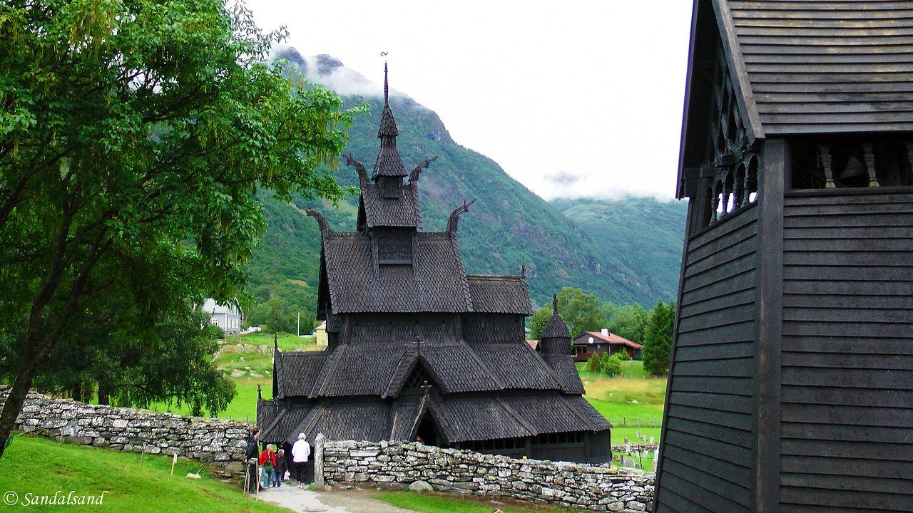 Sogn og Fjordane - Lærdal - Borgund stavkirke
