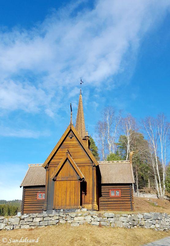 Oppland - Lillehammer - Maihaugen - Garmo stavkirke