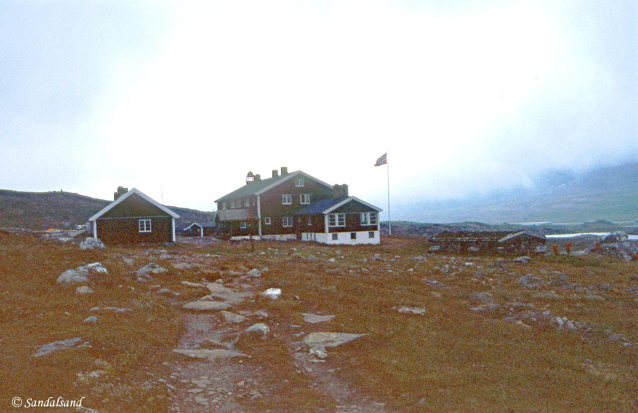 Oppland - Jotunheimen - Glitterheim ved avmarsj