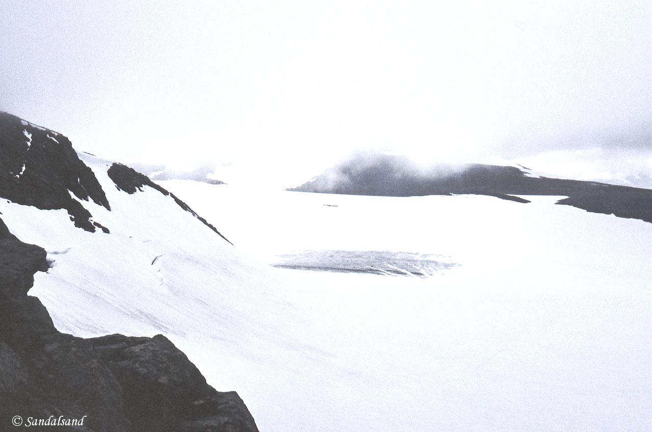 Oppland - Jotunheimen - Opp mot Galdhøpiggen med Styggebre til sides
