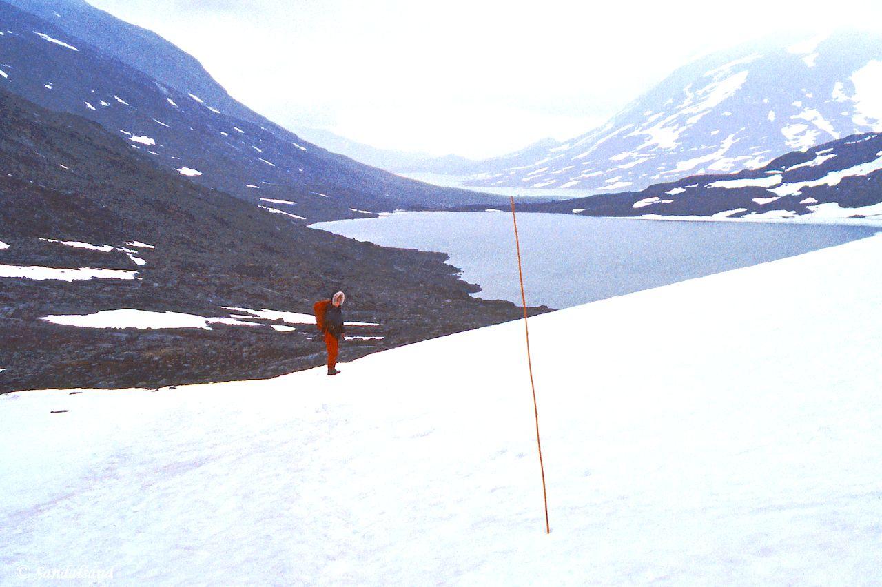Oppland - Jotunheimen - Ned mot Høgvagltjern