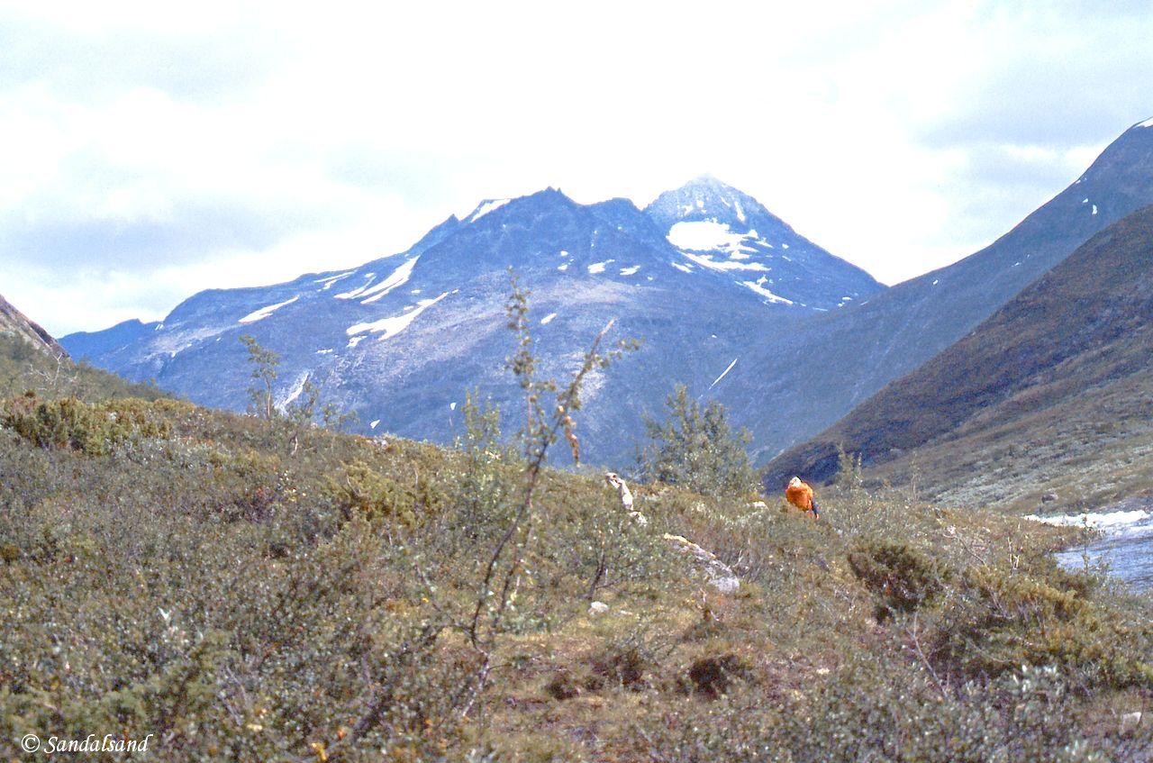 Oppland - Jotunheimen - Nedover Storadalen, nederst