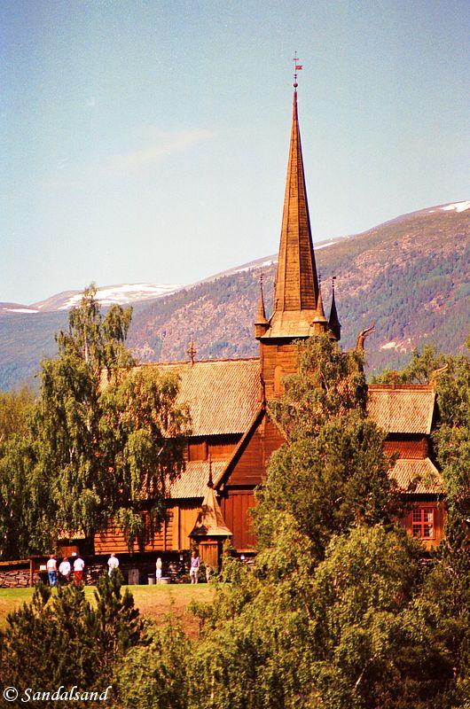 Oppland - Lom - Lom stavkirke