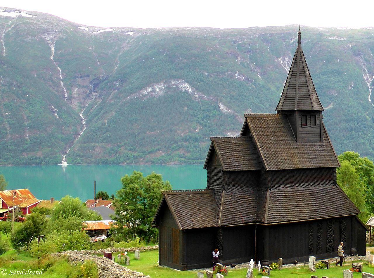 Sogn og Fjordane - Luster - Urnes stavkirke