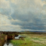 Kitty Lange Kielland (1843-1914) - Torvmyr (1895)