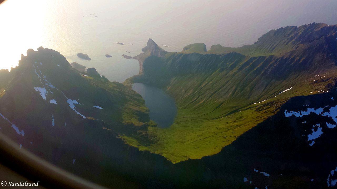 Nordland - Moskenes - Luftfoto