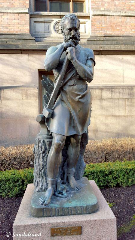 Oslo - Nasjonalgalleriet - Skulptur - Vølund Smed