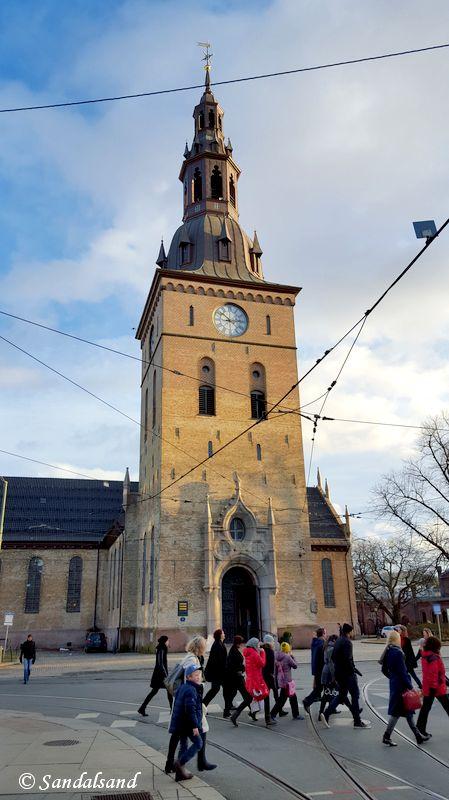 Oslo - Domkirken - Vår Frelsers kirke
