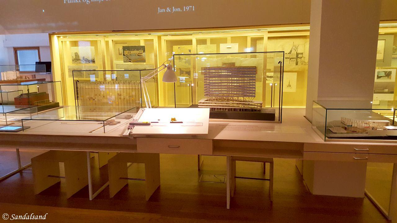Oslo - Nasjonalmuseet for arkitektur - Fast utstilling om byggekunst