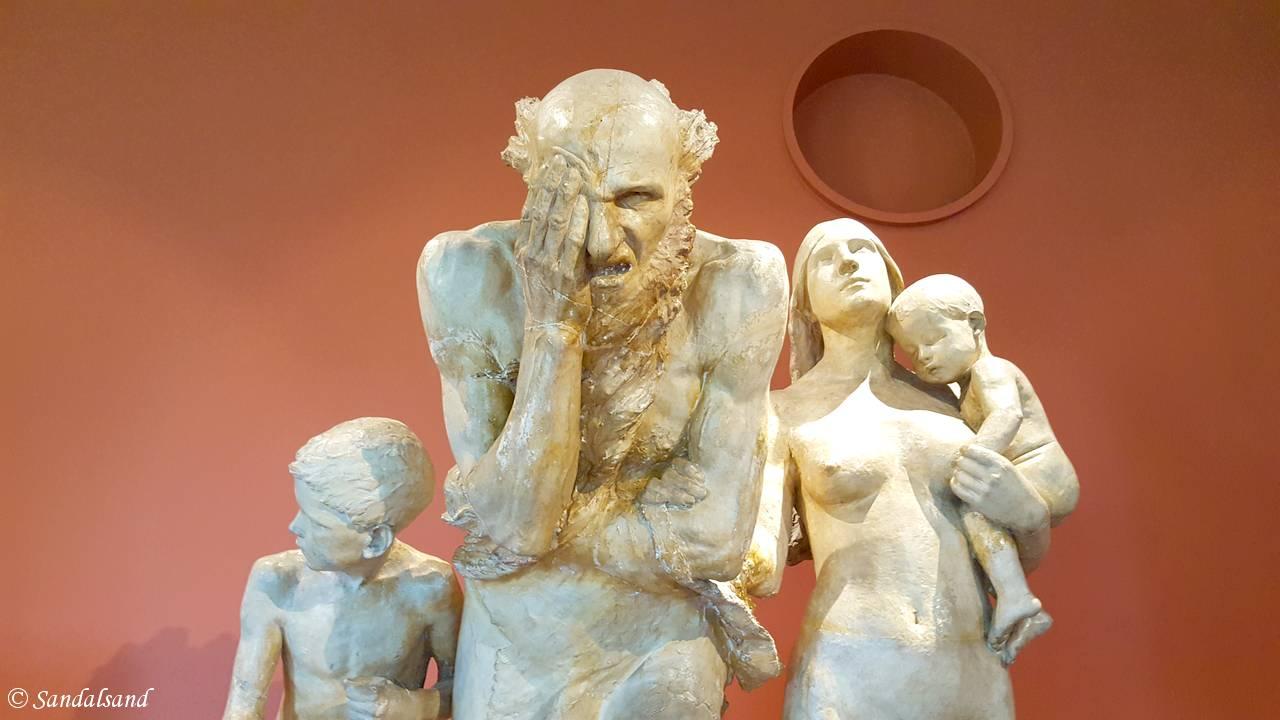Oslo - Vigeland-museet - Skulptur