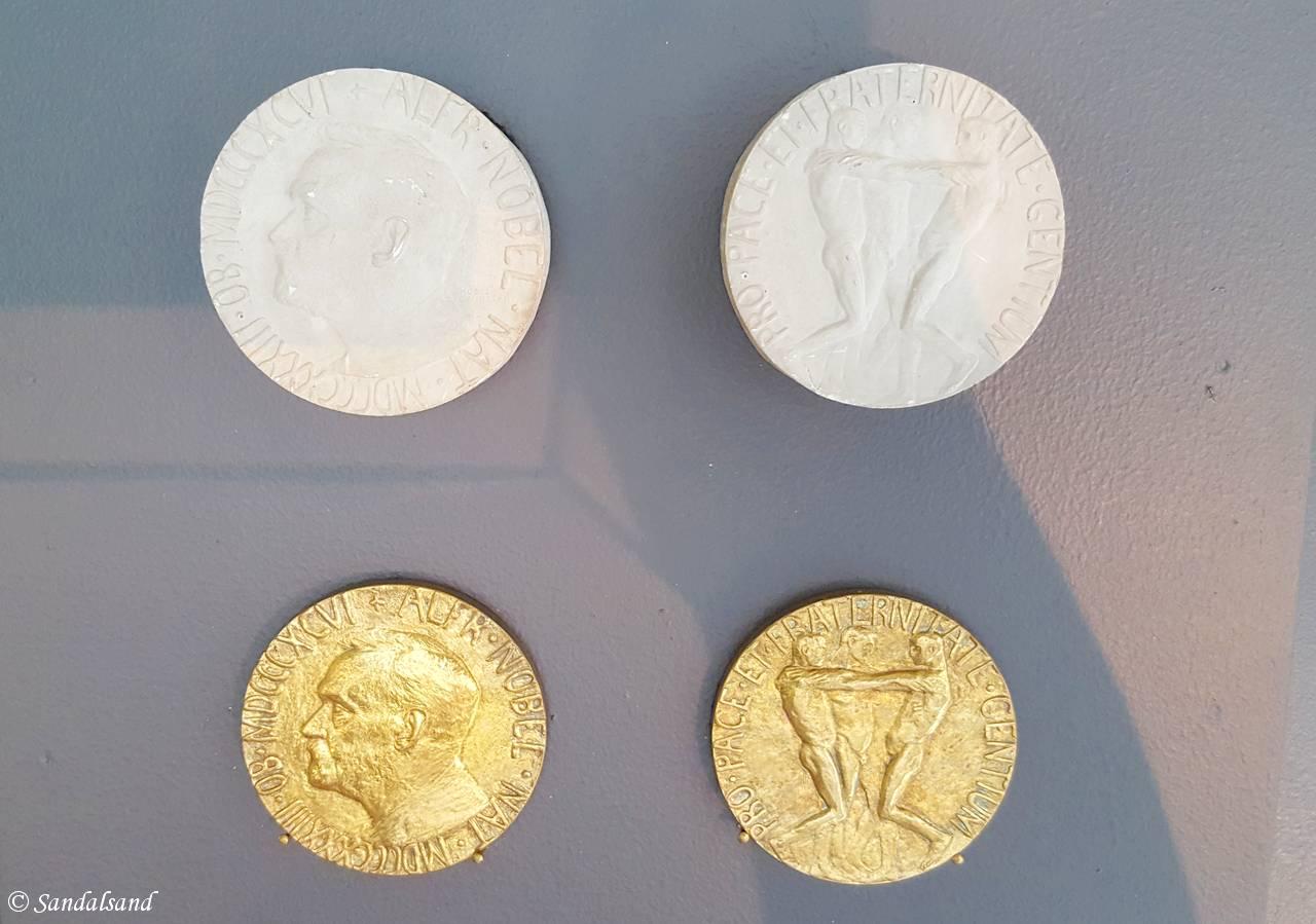 Oslo - Vigeland-museet - Nobels fredspris